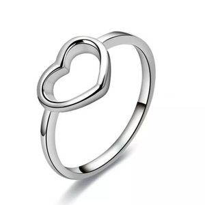 Jewelry - 925 simple Love Heart Ring